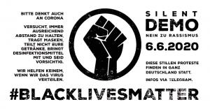 Nein zu Rassismus Demo